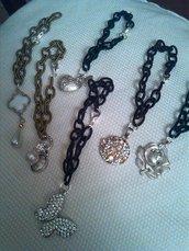 braccialetto cordoncino stoffa