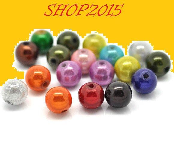 10 mix  Distanziatori Perle a Sfera modello miracle 10  mm