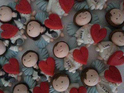 Inserzione riservata 55  bomboniere Angeli bianchi dottori infermieri