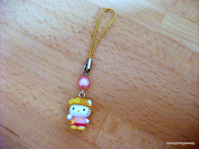 Hello kitty charm ciondolo phonestrap Esploratrice