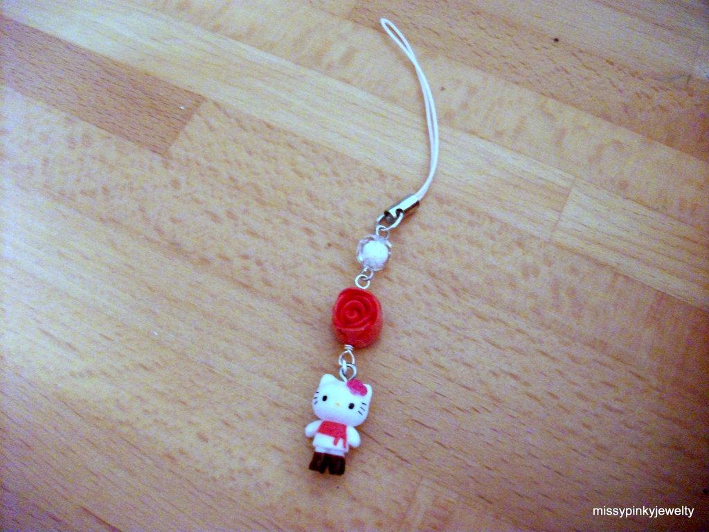 Hello kitty charm ciondolo phonestrap Shopping Addict