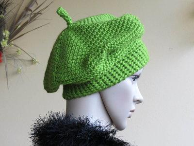 Cappello lana colorato .