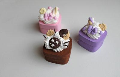 scatoline dolci colorate