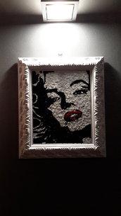 quadro a mosaico Marilyn monroe