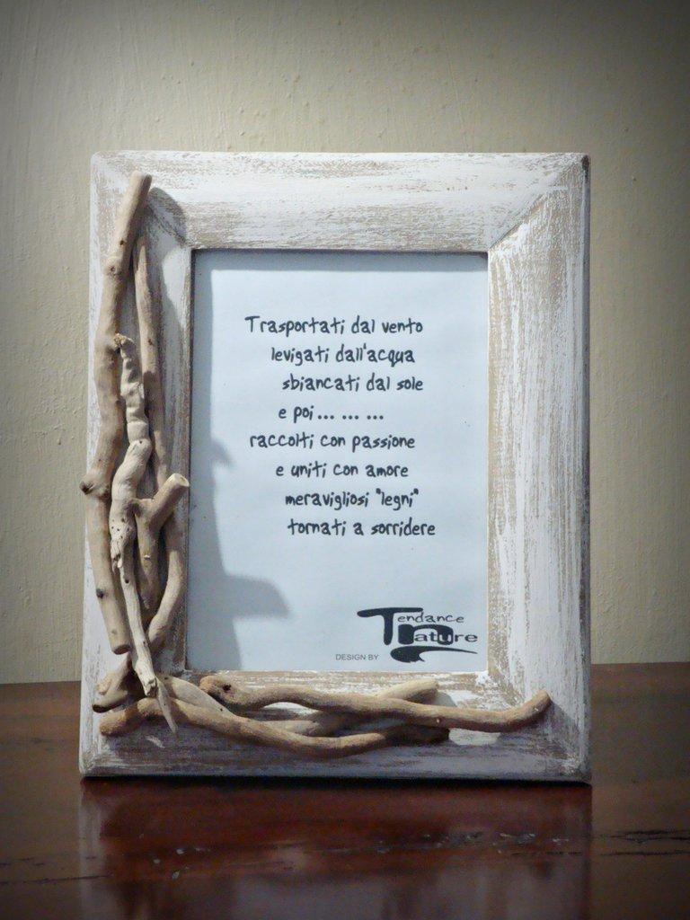 LOPSIDED portafoto con legni di mare - Per la casa e per te - Decor...  su M...