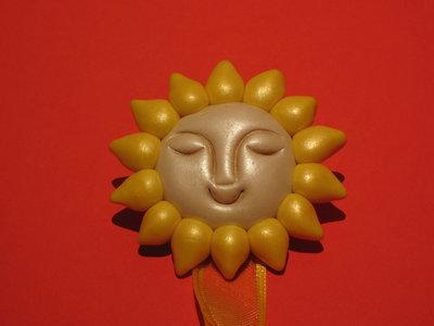 Magnete reggitenda Sole