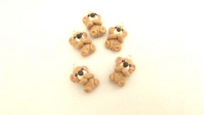 UN CIONDOLO A SCELTA - fimo - orsetti orsacchiotti e per orecchini, braccialetti, collane