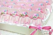 Bomboniere Bimba con Calamita Cupcake Personalizzata