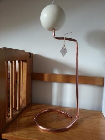 Candeliere Copper Pipe Quadro