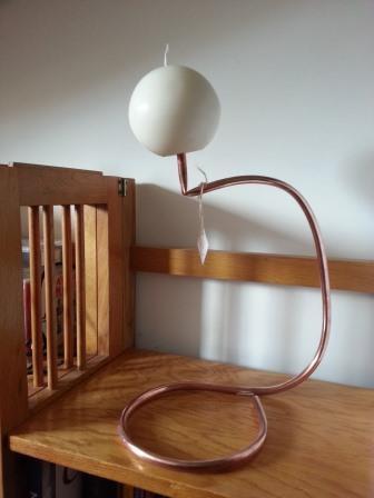 Candeliere Copper Pipe Tondo