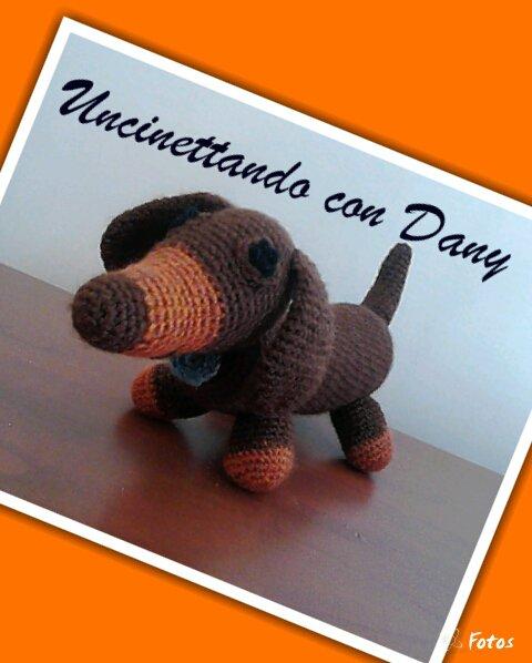 Cane Amigurumi applicazione Uncinetto Tutorial 🐶 Dog crochet ... | 598x480