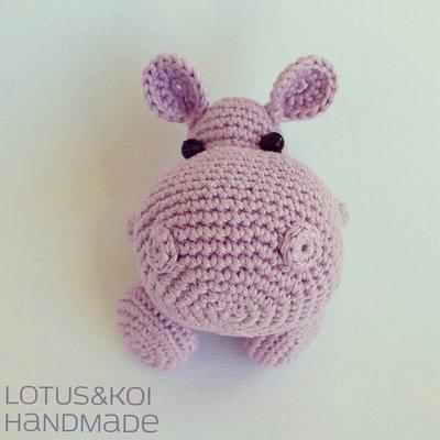 Ippopotamo Amigurumi , Hippo Amigurumi Realizzabile in tutti i colori su richiesta.