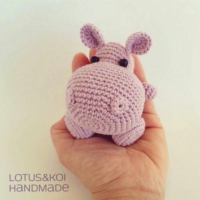 Ippopotamo Amigurumi Crochet : Ippopotamo Amigurumi , Hippo Amigurumi Realizzabile in ...
