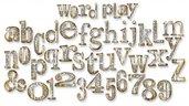 Lettere Fustellate in Feltro