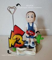 cake topper compleanno personalizzato