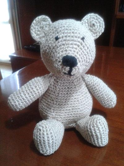 Simpatico orsetto amigurumi in fettuccia - Bambini ...