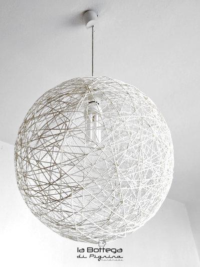 lampadario a palla : Lampadario in Spago - Per la casa e per te - Arredamento - di la B ...