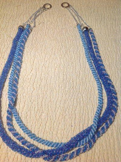 Collana spirale russa 3 fili