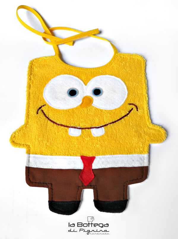 Bavaglino Sponge Bob