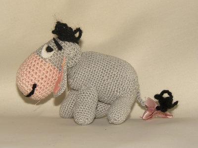 Asinello Portachiavi Amigurumi - Donkey Crochet - Burrito Llavero ... | 300x400