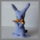 Pupazzo coniglio lilla