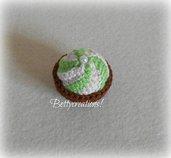 Calamita Magnete Cupcake Uncinetto 3