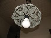 arredamento lampadario a uncinetto