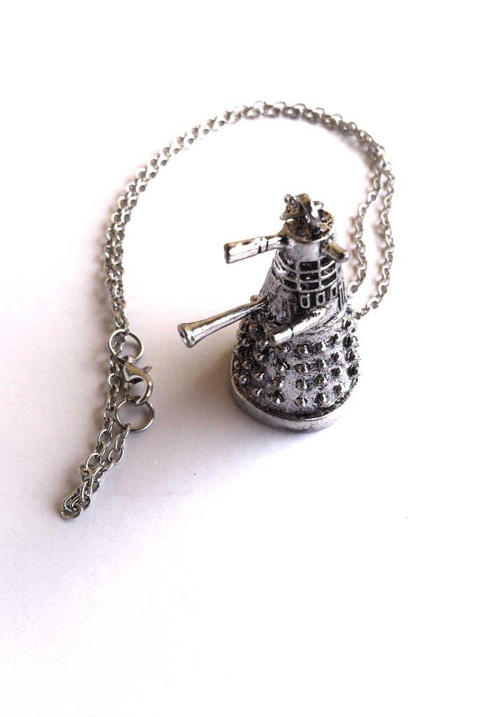 DOCTOR WHO exterminate Dalek collana ispirata