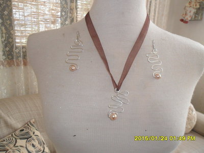 collana con perle