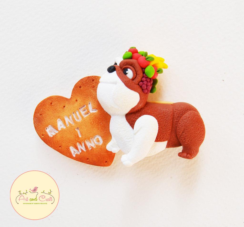 Calamita Rio con biscotto personalizzabile
