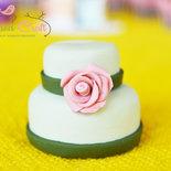 Mini torta segnaposto