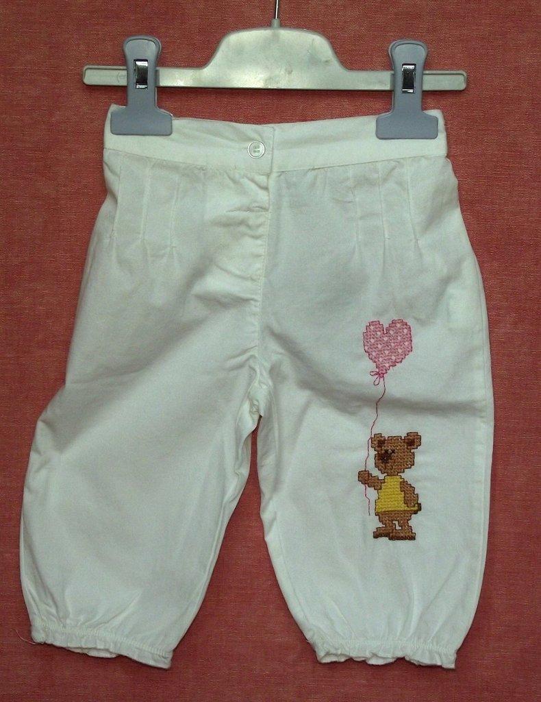 pantaloncini con orsetto