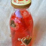 Message for you  Messaggio in bottiglia cuori dipinto a mano