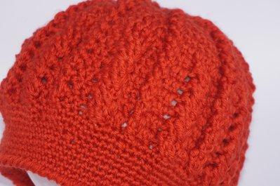 Cappello treccia lana donna