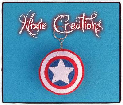 Portachiavi Capitan America - Marvel Inspired