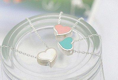Collana cuori per lei idea regalo cuore colorato