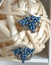 Mini Orecchini Elegance Ocean Blue