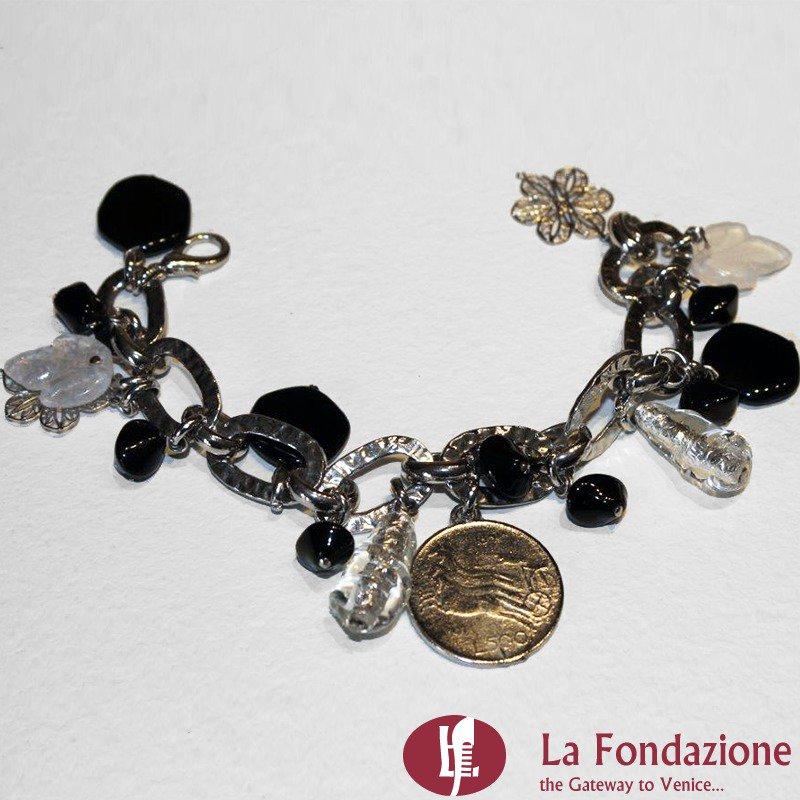 Lyra - Bracciale in vetro di Murano