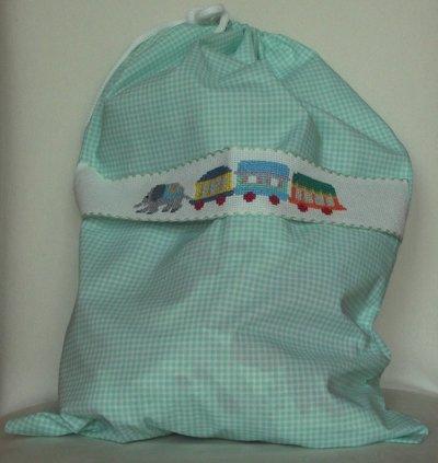 sacchetto con trenino