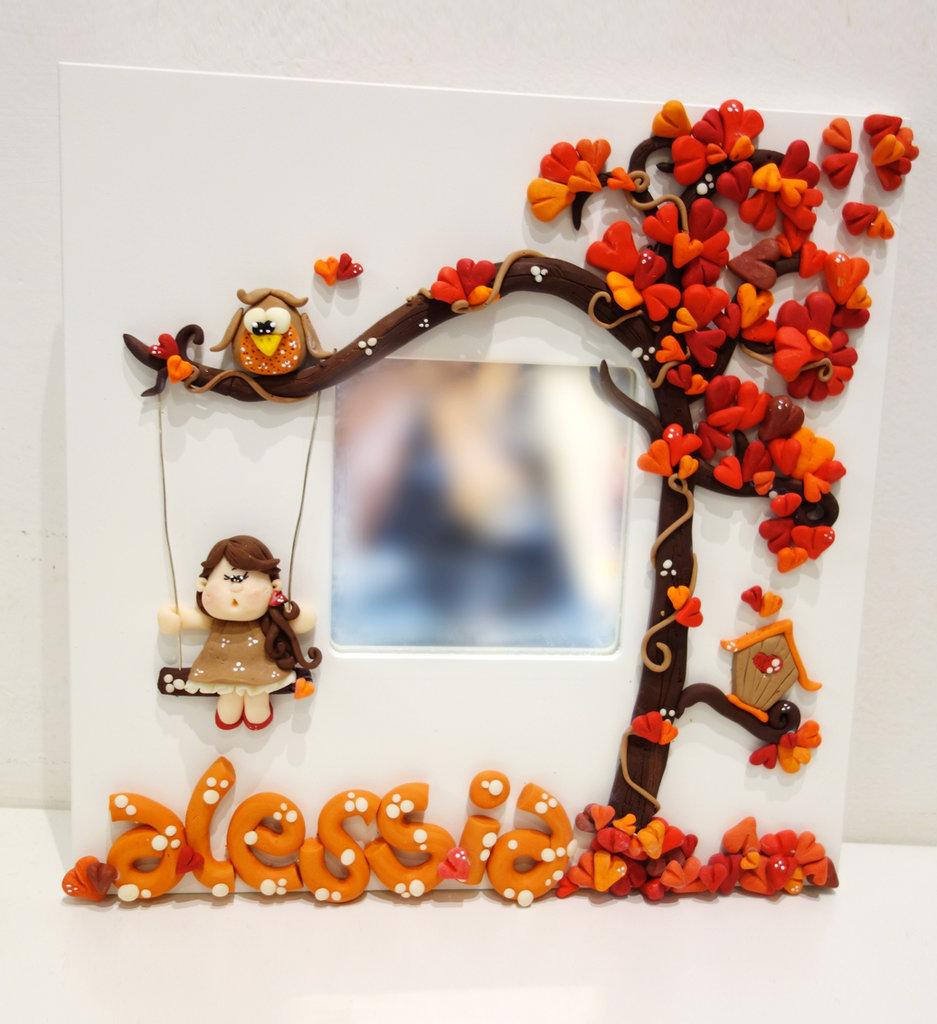 specchio decorativo per camera con il nome del tuo bambino