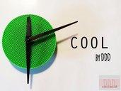 Orologio Cool Verde/Nero in Acido Poliattico (PLA) original design by DoDesignDone!