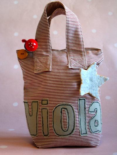 Borsetta/astuccio portamerenda per bambine felici e stellari#littlegirlscollection