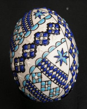 Uova dipinte a mano