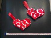 Cuoricini tessuto San Valentino