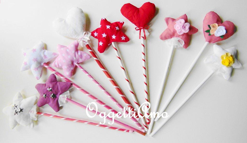 10 Bacchette magiche per piccole fate o graziosi scettri per vezzose principesse?