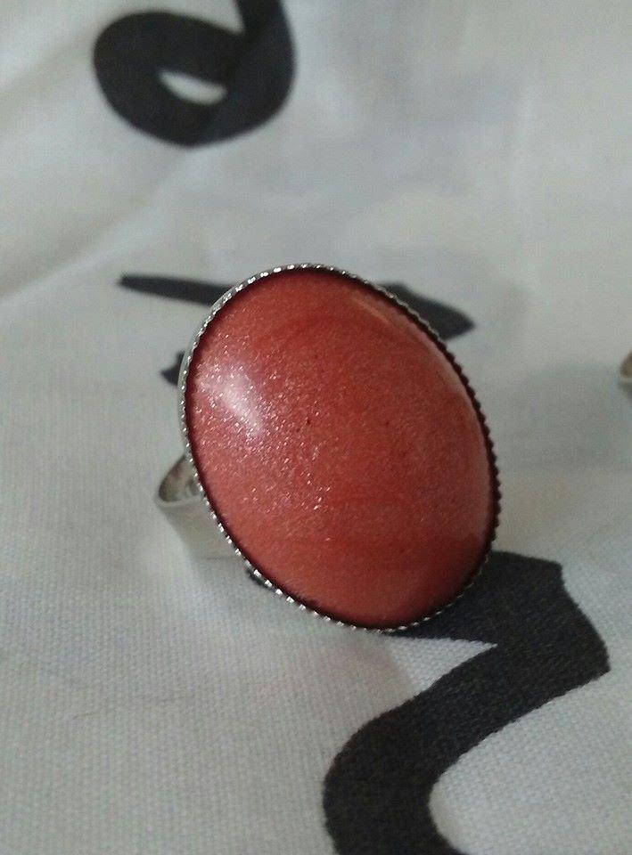 anello regolabile con cammeo