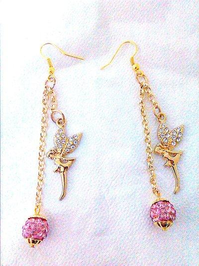 orecchini pendenti color oro