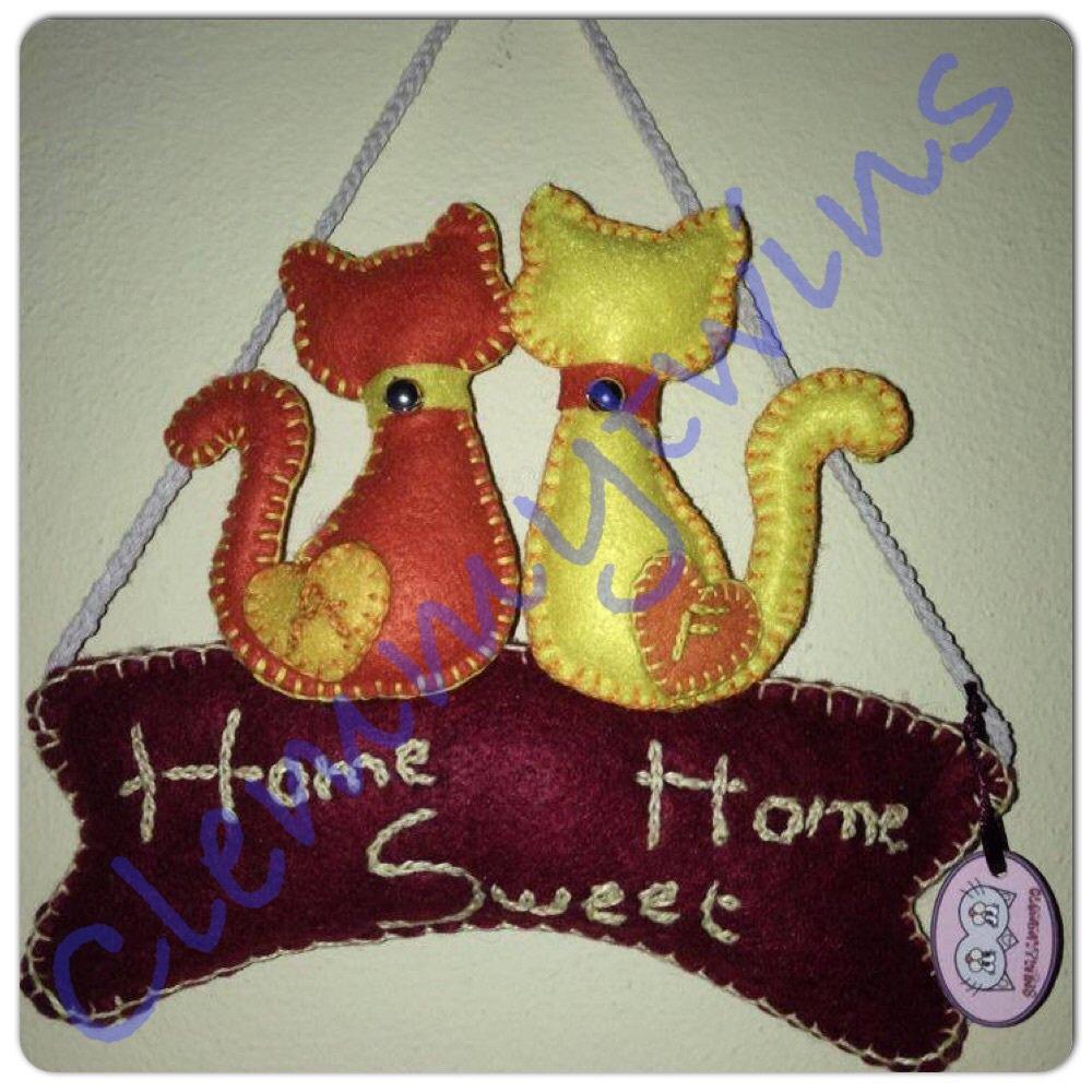 """Fuori porta aMici """"Home Sweet Home"""" personalizzato"""