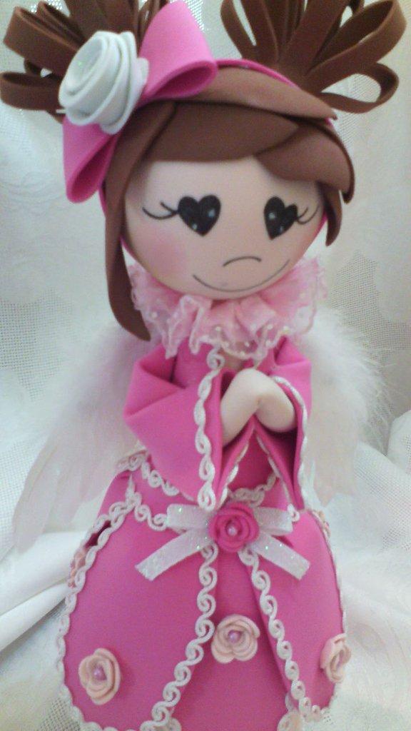 Angelo moosgummi rosa