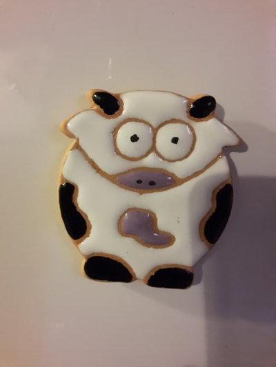 Calamita realizzata a mano in ceramica e smalto colori d personalizzare.